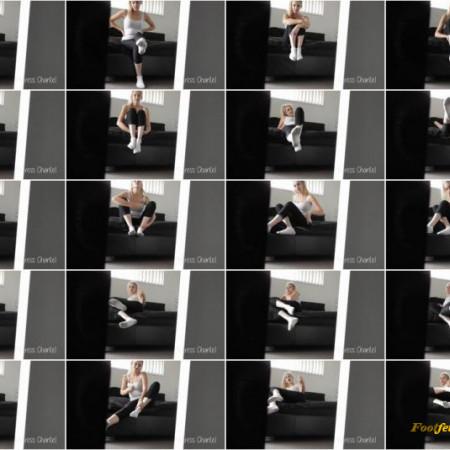 Mistress Chantel - Sock and Feet Edge + JOI CUM COUNTDOWN