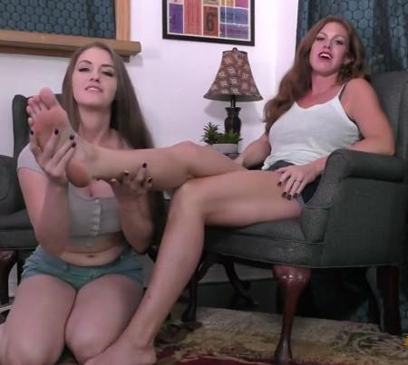 Ivy Secret, Terra Mizu - How to properly worship feet