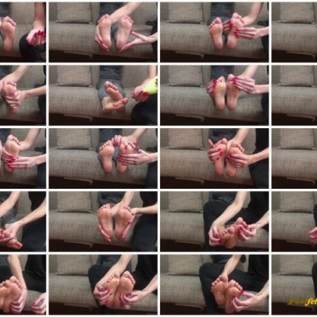 Doll House Studio – Foot Massage And Oil Foot Tickling Jenny