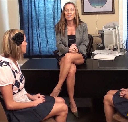 First Time Foot Smellers - Perverted Classmate Humiliation