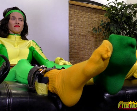 FTKL's Tickling Fantasies – Tickles From the Darkside! Pt. 4 Sockin' It To Rogue!