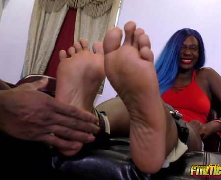FTKL's Tickling Fantasies – The Tickle Casting Couch! Pt 97 Paris Love's Size 11s!