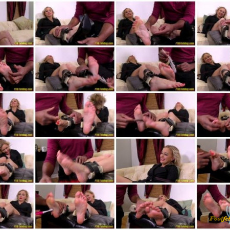 FTKL's Tickling Fantasies – The Tickle Casting Couch! Pt 100 Alexa J Toes Special!