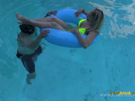 ClubStiletto - Miss Madison - Pool Games with Miss Madison
