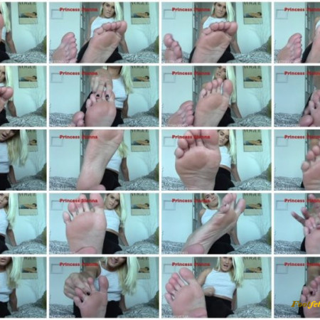 Sienna Lee – Stroke and Edge For My Feet