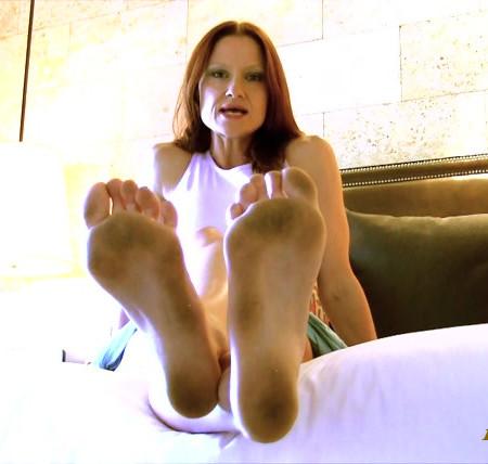 The Mistress B  - Vacation Foot Bitch