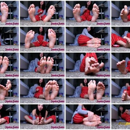 Jessica Jones – 30 Minutes Edging Foot JOI