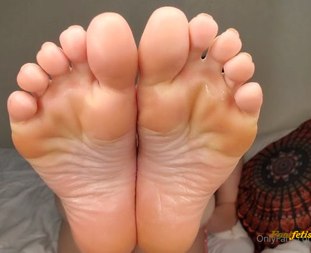 Neko Nymphe -foot fetish JOI Video