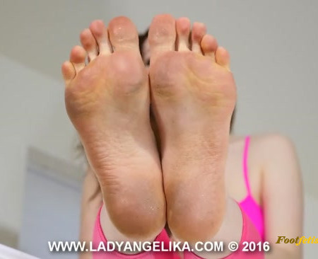 LADY ANGELIKA - Clean Up and Worship My Dirty Barefoot Soles