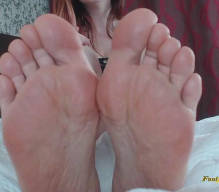 Goddess Jessica Rayne - Eager Little Foot Cuck