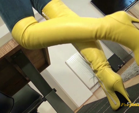 Fetish Liza – Leather Boot Pervert JOI