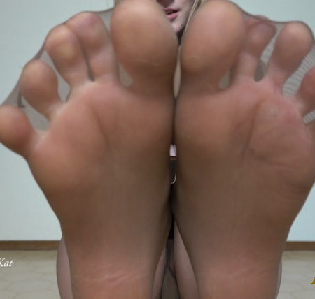 Destination Kat - Foot JOI and Pantyhose