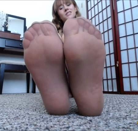 Nylon Foot Worship And JOI