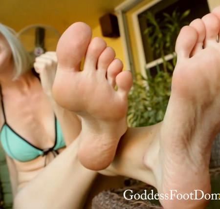Goddess Foot Domination - Goddess Jane - You Like What I Did