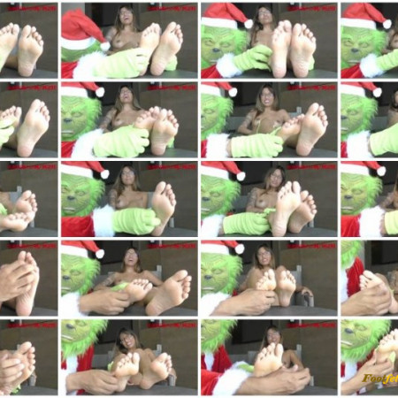 Houston Foot Fetish – The Grinch has his way with Asia Perez's delicate feet