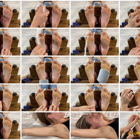 Zen Tickling – Toe-Tied and Tickled