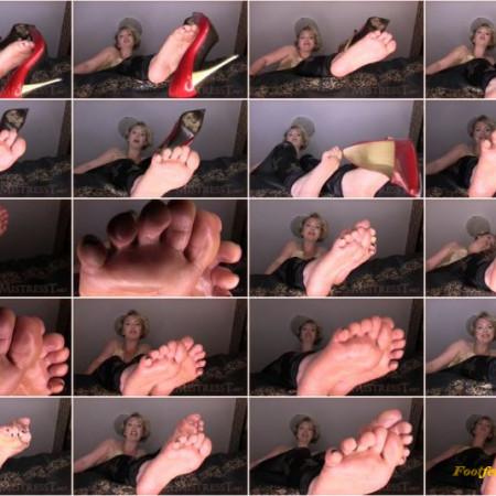 Mistress T. - Foot Dork Humiliated