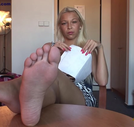 Foot Casting with Karol