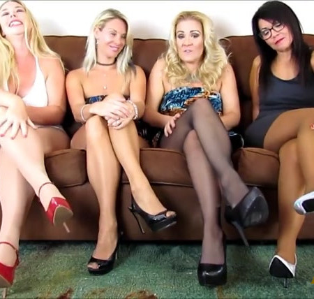You Are in Pure Pantyhose Heaven
