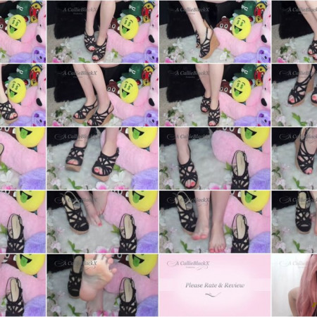 Callie Black X - Love My Feet, Worship My Feet
