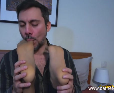 Sexy smelly Italian nylons