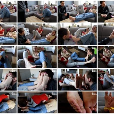 Czech Soles - Sexy foot teasing by two friends