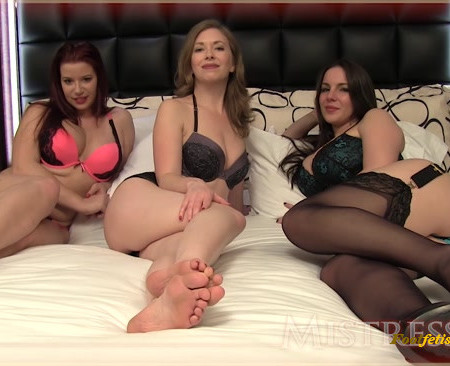 Mistress T, Goddess Alexandra Snow, Sarah Blare - StepMommie and Friends