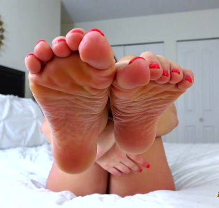Alyssa Reece - Foot Addiction JOI