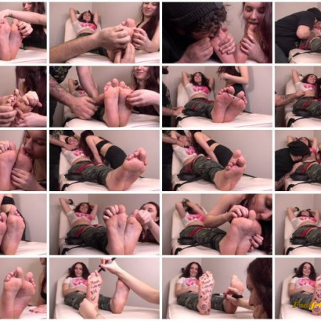 The Tickle Room – Alex and Aurora Playing Foot Games Pt 2 Maximum Overload