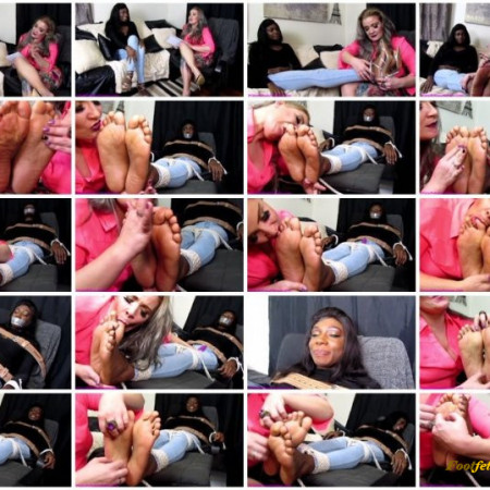 Sensuous Submission – Foot Tickle Therapy with Paris Love