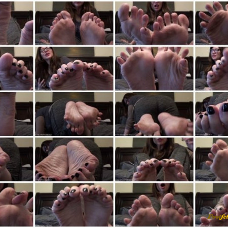 Violet Bliss - Cum on my dirty toes