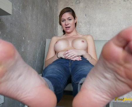 Ashley Alban – Stinky Feet in Your Face