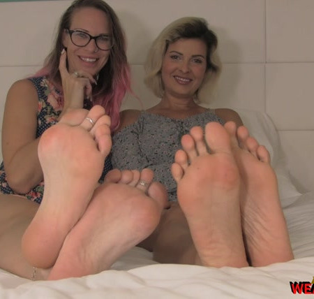 Weak for Feet - Double Foot Fantasy