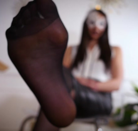 Stella Liberty - Nichole Dangling in Stockings