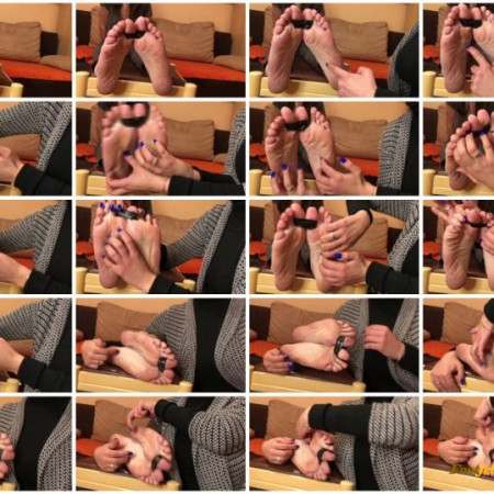 Doll House Studio – Big Toe Tied Up Foot Tickling