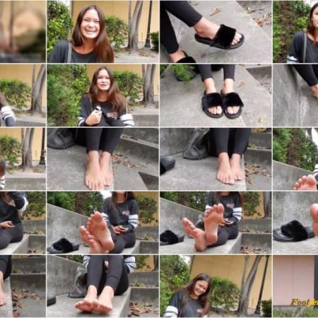 Rachael's Half Japanese Aesthetic Feet Before Class