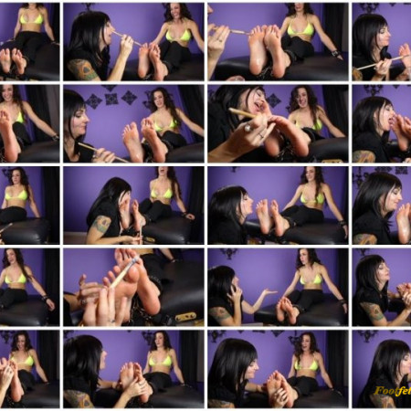 Scarlett Sinns Twisted Fetishes – The Tickling Game – Part 2