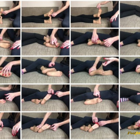 Doll House Studio – Tickling Small Feet In Pantyhose