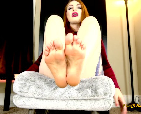 Olivia Rose - New Years Foot Resolution