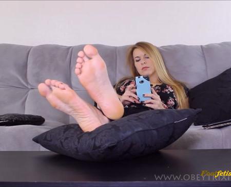 Trixie Miss - Foot Slave Humiliation