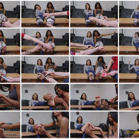 UKTickling – Ayla & Naia's Foot Tickling Endurance Challenge