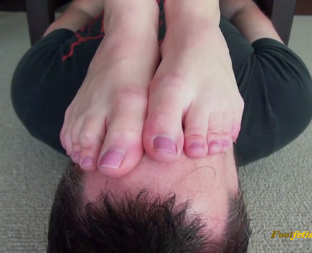 Bratty Foot Girls - Princess Rene - Buried Non-Stop Under my Stinky Soles