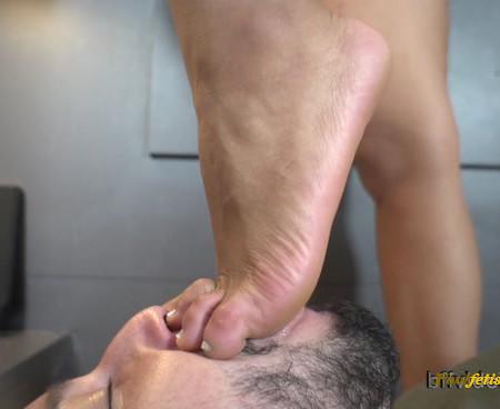 Bffvideos - Sweaty Feet Cleaning Pt.2