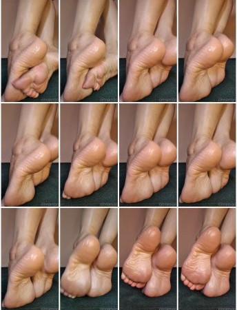 cinnamonfeet2 - oily soles