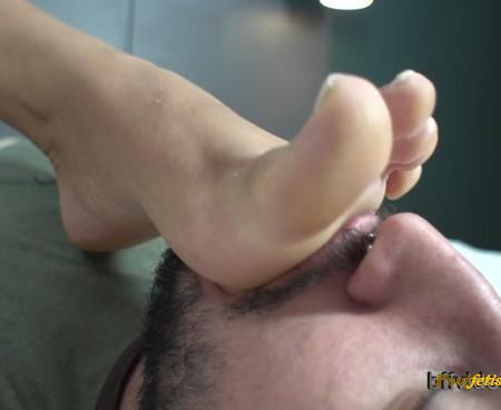Bffvideos - Sweaty Feet Cleaning Pt.3
