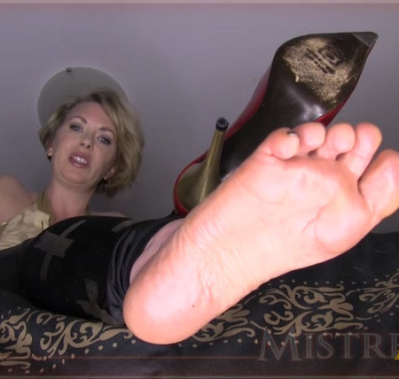 Mistress T. - Foot Dork Humiliated