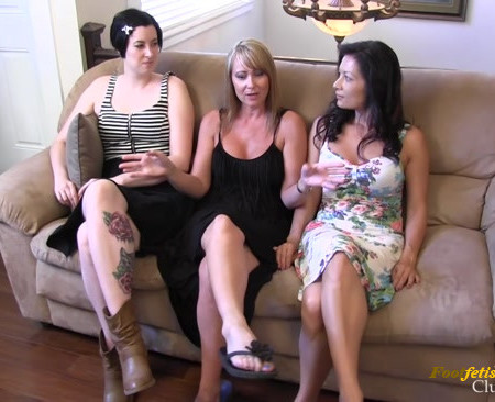 Mistress Kandy, Miss Jasmine, Goddess Airen - Let's have a foursome They said, it'll be FUN They said