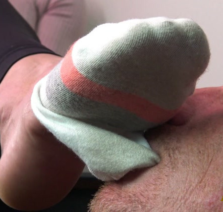 Goddess Zephy - Lick My Dirty Socks Again - Loser Of The Month