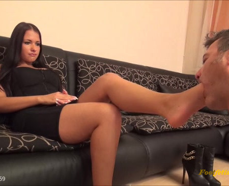 FootDominas - MILEY - Brattiness Extreme - Foot Worship And Foot Domination EXTREME PART1
