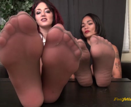 Bratty Babes Own You - Principals Office Stinky Foot humiliation